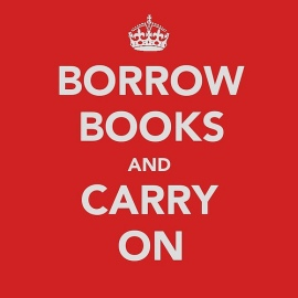 borrow books and carry on square